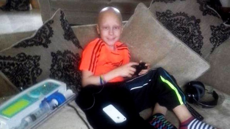 Ethan Maull was diagnosed with a rare form of Osteosarcoma at the age of 8. Ethan Maull's 'Up Yours to Cancer' Foundation raises funds for families travelling for treatment.
