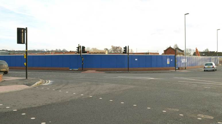 Under construction: the site at the former Boultham Dairy in Lincoln. Photo: File/The Lincolnite