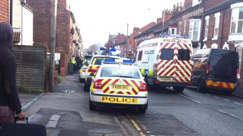 The scene of the arrest on Portland Street. Photo: H Dawson