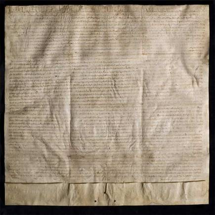 Lincoln's document is one of only four surviving original copies of the Magna Carta - two are held at the British Library and the other at Salisbury Cathedral.