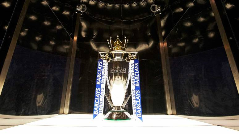 The Barclays Premier League trophy. Photo: Kevin Moran