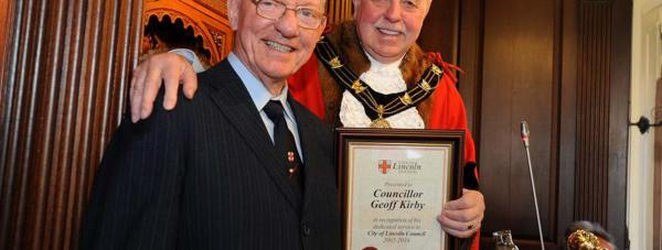 Councillor Geoff Kirby. Photo: CoLC