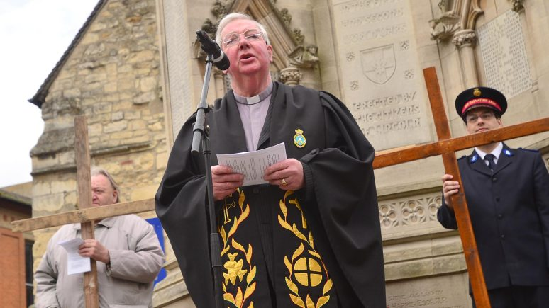 Reverend Hamish Temple, Chairman of Churches Together in Lincoln and District. Photo: Steve Smailes for The Lincolnite