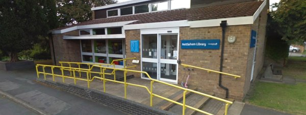 The community-led Nettleham Village Library. Photo: Google Street View