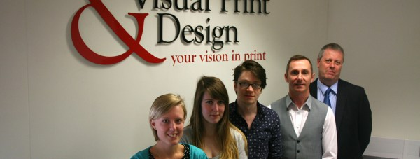 The team at Visual Print and Design.