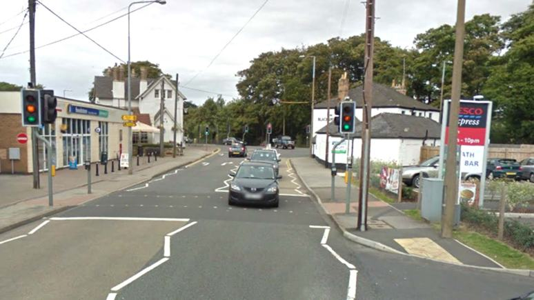 The A607 Grantham Road in Bracebridge Heath, Lincoln. Photo: Google Street View