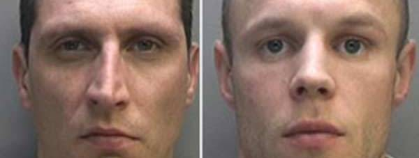 Andrius Jonaitis and Modestas Gruzdziunas. Photo: Lincolnshire Police