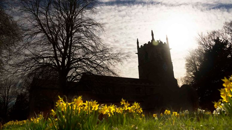 Caistor, St Peter & St Paul. Open 10th-11th May, Saturday 10am-4pm & Sunday 11.30am-4pm. Photo: Push Creativity