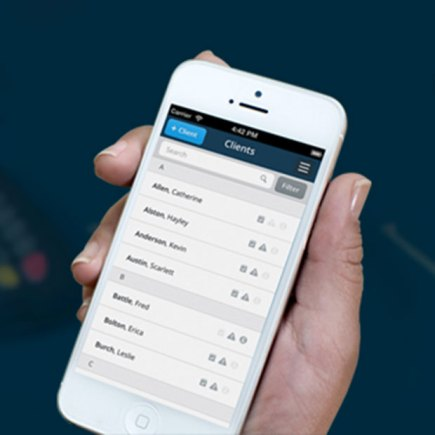 Trade Clients is a mobile payment and management system for self-employed tradespeople.