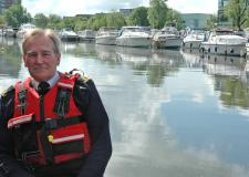 Instructor Chris Wood said the Lincoln Sea Cadets already have big plans for improving the city waterway. Photo: LSC