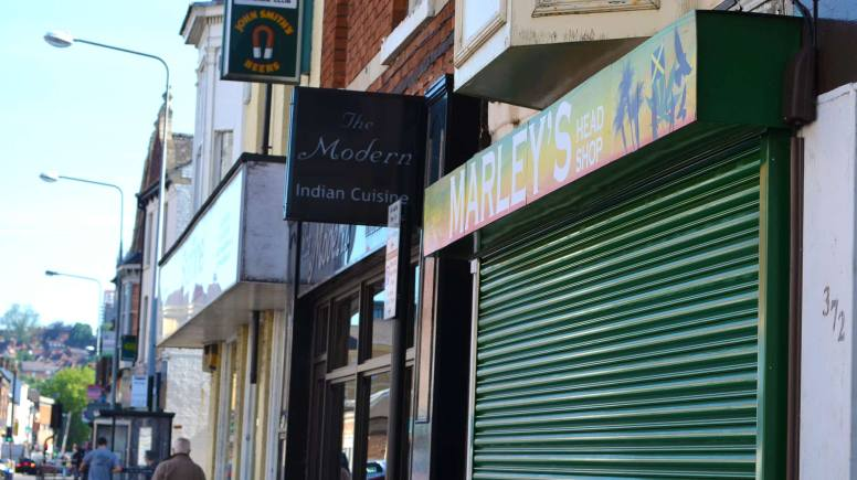 Marley's Head Shop in Lincoln. Photo: The Lincolnite