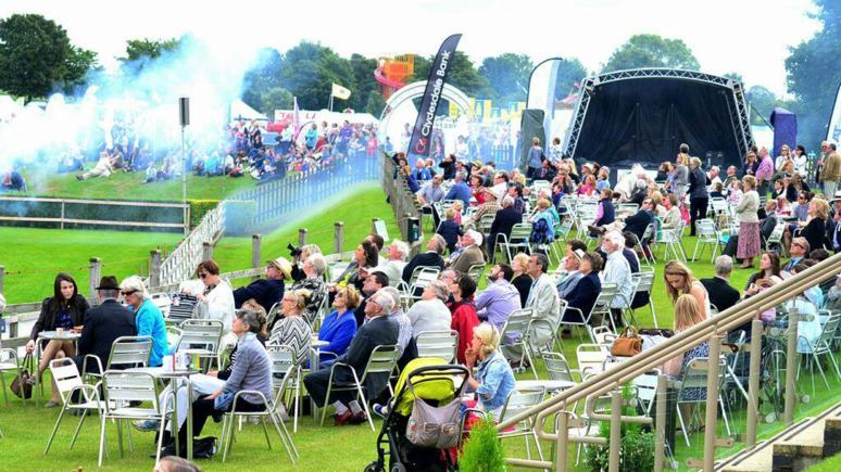 Crowds at the Lincolnshire Show 2014. Photo: Steve Smailes/The Lincolnite