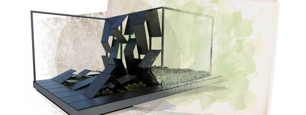 The new design of the social media garden. Photo: University of Lincoln