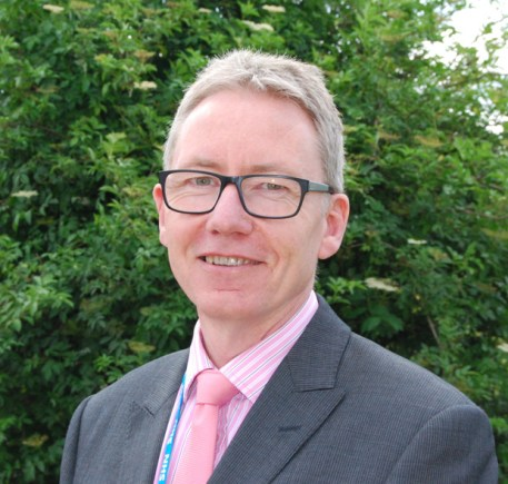 Lincolnshire Community Health Services NHS Trust's new CEO Andrew Morgan.