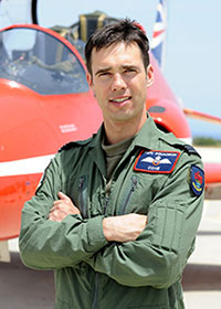 Flight Lieutenant Cox