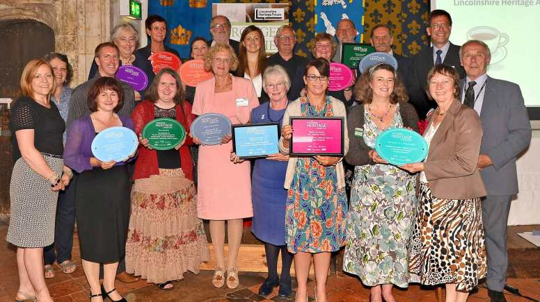 Lincolnshire's best heritage projects, individuals and exhibitions were celebrated at the awards. Photo: Mick Fox