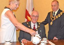 Mayor of Lincoln, Councillor Brent Charlesworth, will host the tea party for his two charities.