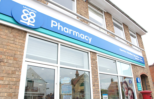The pharmacy has also been given a new frontage.