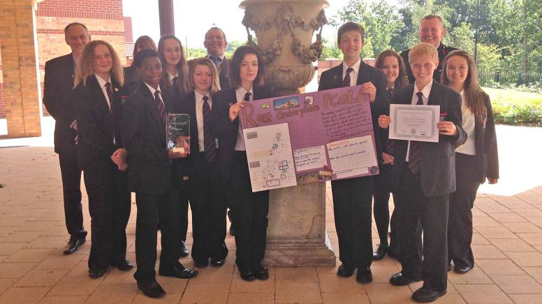 Students from the Priory City of Lincoln Academy are ready for the worst.