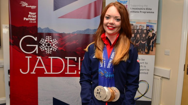 Paralympic medalist Jade Etherington. Photo: Steve Smailes for The Lincolnite
