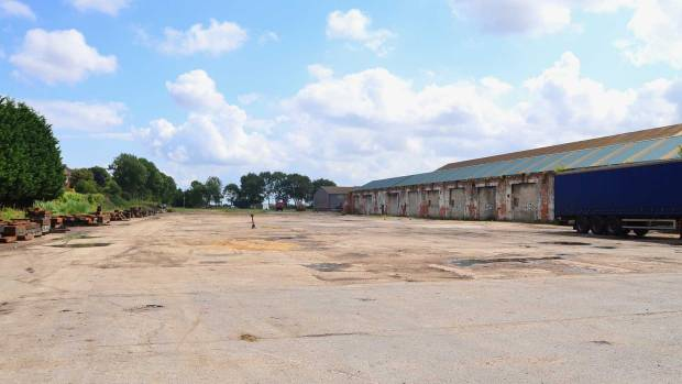 The spot where Bifrangi's R&D centre will be built. Photo: Steve Smailes/The Lincolnite