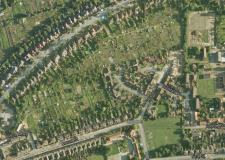 The allotments off Clarence Street in Lincoln. Map data: Google