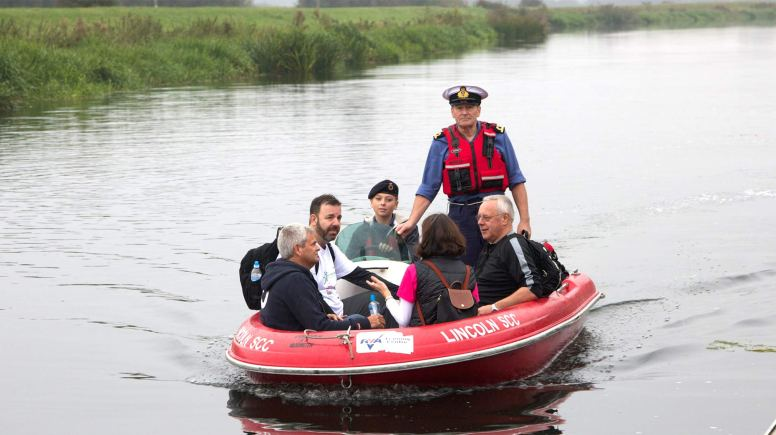 Photo: Beating The Bounds/MP Karl McCartney