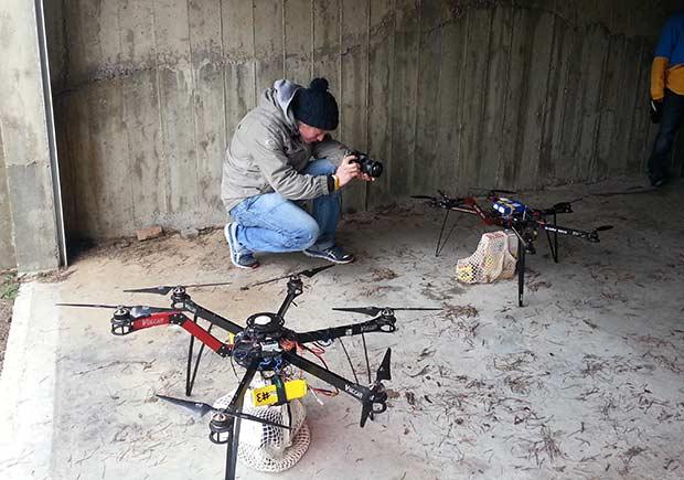 Filming-quads