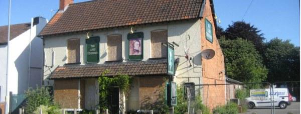 The former Lord Tennyson pub site on Rasen Lane.
