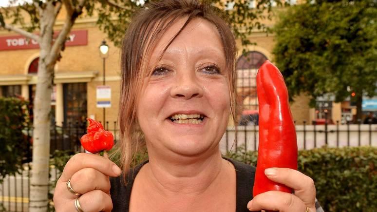 Chilli contest winner Paula Turzanski.