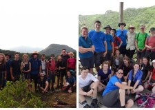 This year's participants in Nicaragua and Honduras. Photo: Katie Gilbert