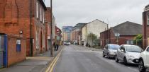 Tentercroft Street will be widened as part of the scheme. The car park will not be disrupted. Photo: Steve Smailes for The Lincolnite