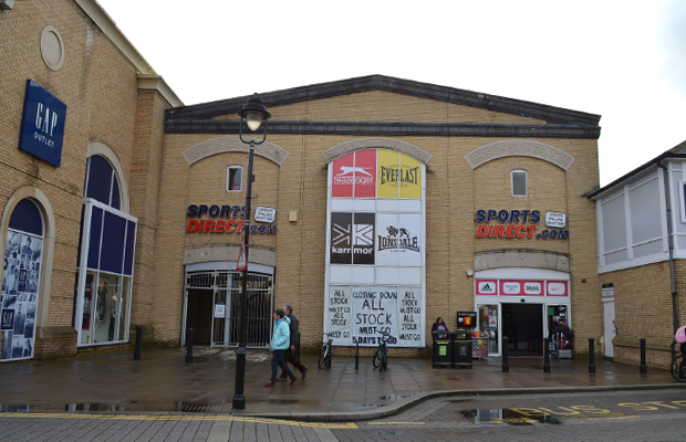 Sportsdirect.com's current St Marks unit is holding a closing down sale.