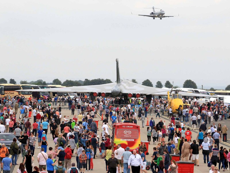 More than 135,000 people attended over the two days of the 2014 Waddington Air Show. Photo: SAC Lauren Pope