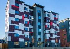 Saul House student accommodation in Lincoln.