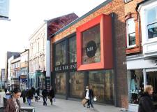 An artists' impression of what the frontage of The Mall – in Lincoln's Upper High Street – might look like