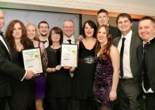 Winners at the Select Lincolnshire Food, Drink and Hospitality Awards 2014.