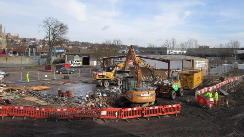 East West Link Road works are ongoing. Photo: Lincolnshire County Council