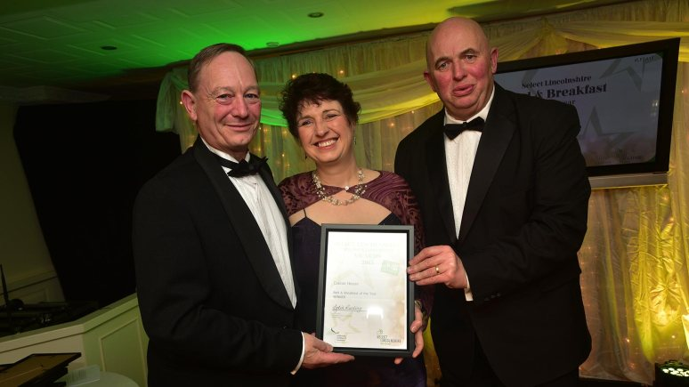 Caxton House in Skegness, winners of B&B of the Year