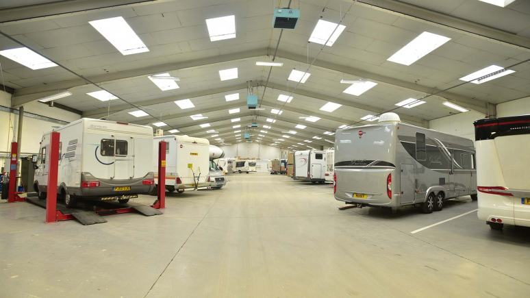 Camper UK service area. Photo: Steve Smailes for The Lincolnite