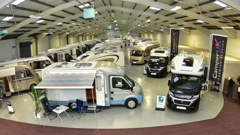 Camper UK Showroom. Photo: Steve Smailes for The Lincolnite