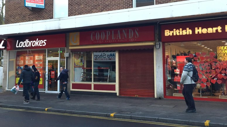Cooplands on Lincoln High Street