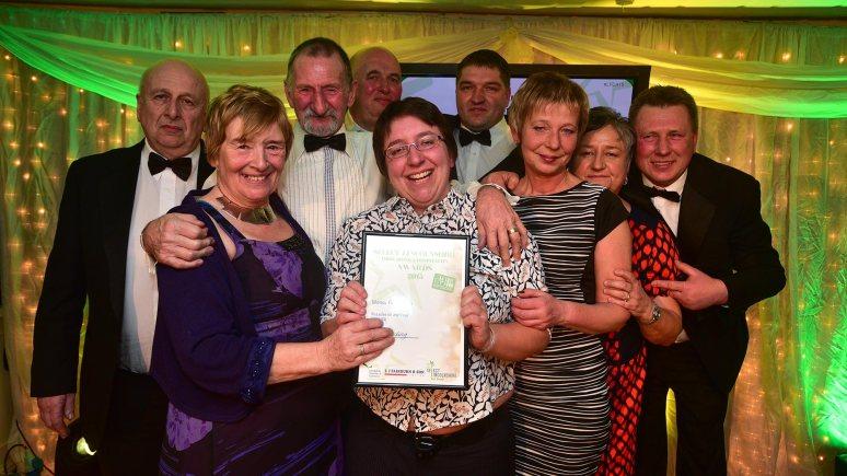 Manor Farm Shop from Swineshead, Boston, winners of Retailers of the Year