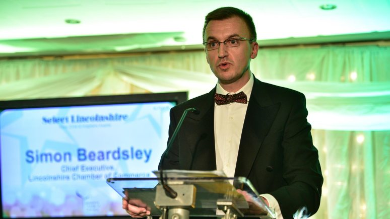 Simon Beardsley, Chief Executive at the Lincolnshire Chamber of Commerce