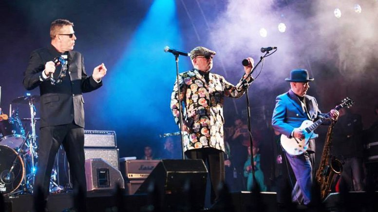 Pop legends Madness, who will play at Sincil Bank Stadium in May