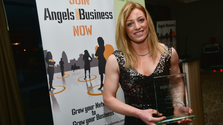 Emma Bristow, from Alford, co-wins Active Angel Award. Photo Steve Smailes for The Lincolnite