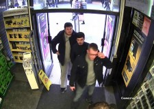 CCTV image released of the three men Lincolnshire Police are looking to speak to in connection with a phone theft from Gametronics in Lincoln.