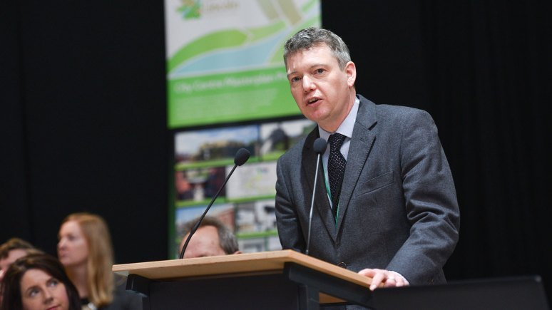 Justin Brown, Commissioner for economic growth at Lincolnshire County Council. Photo: Steve Smailes for The Lincolnite