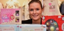 Owner of Rubyred Kids Boutique, Lucie Poole. Photo: Steve Smailes