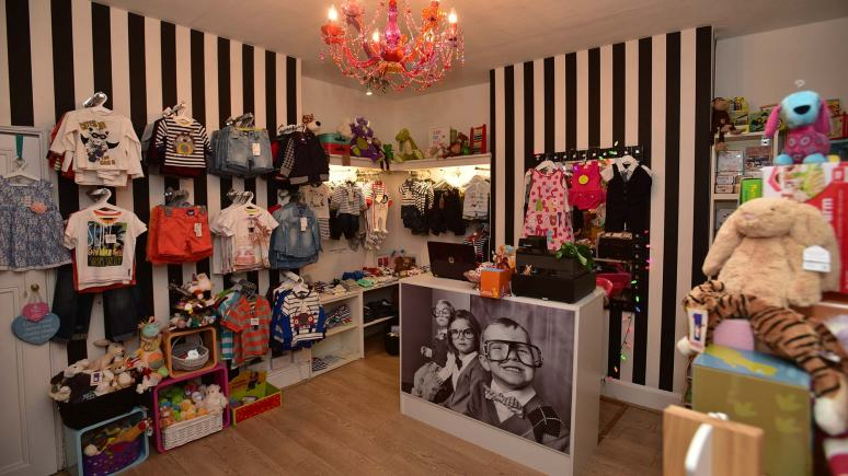 Inside Rubyred Kids Boutique Photo: Steve Smailes